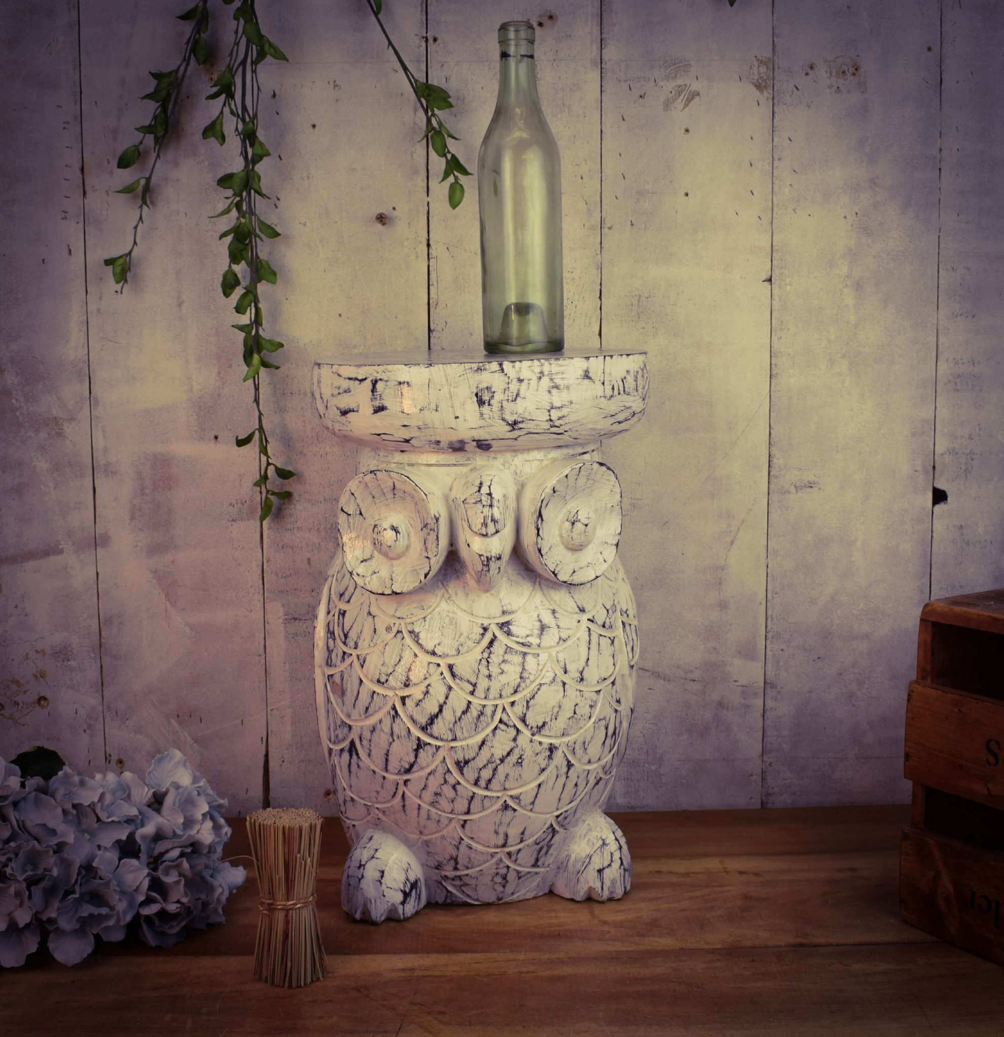 pair and owl benches large white blue stools for contemporary ceramic garden stool stands of sale
