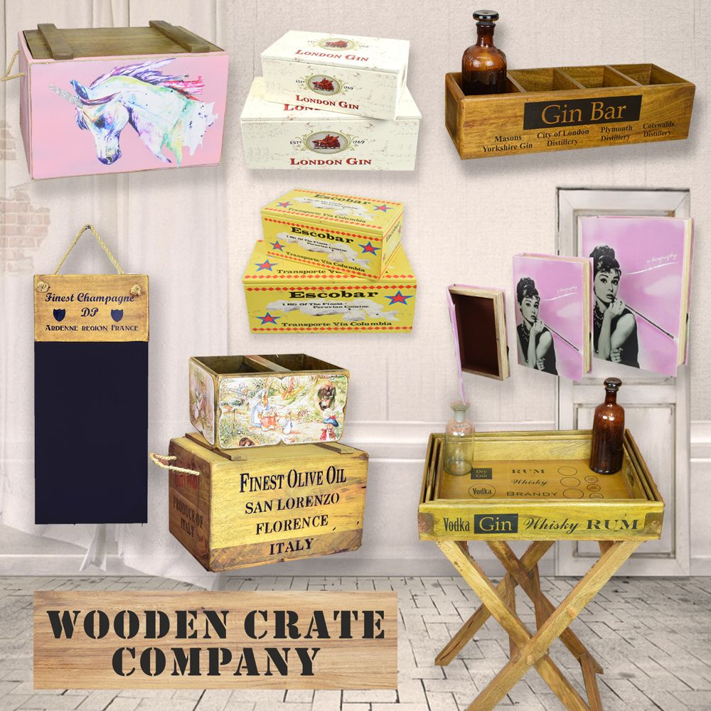 Wooden Crates Promo