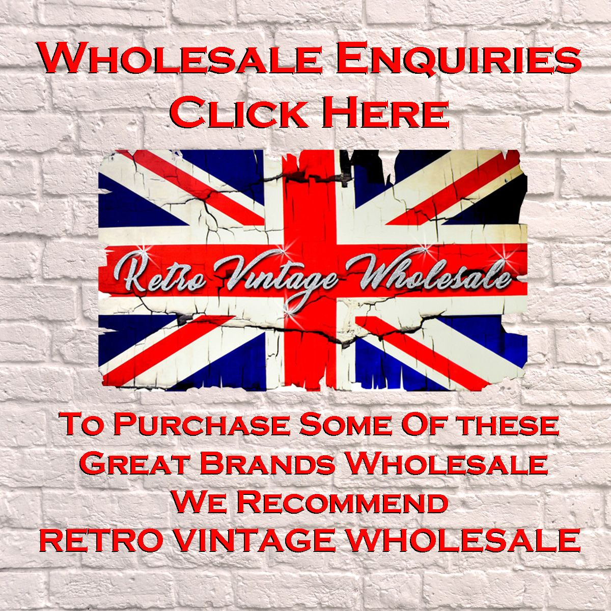 Wholesale Enquiries Promo